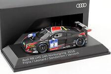 Audi R8 LMS #2 24h Nürburgring 2016 Frijns, Leonard, Sandström, Vervisch 1:43