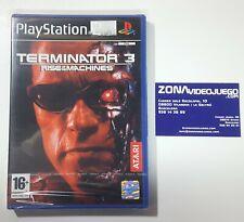 Terminator 3 Rise of the Machines, Playstation 2, Pal-Esp, Nuevo a estrenar.