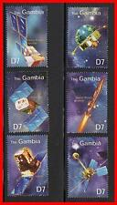 GAMBIA 2000 SPACE SATELLITES MNH  CV$6.25