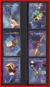 GAMBIA = SPACE SATELLITES MNH