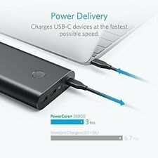 Anker PowerCore+ 26800 PD with 30W PD Portable Charger Bundle Power Delivery