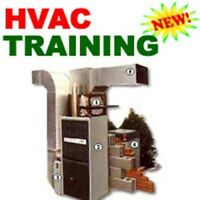 Heating HVAC Air Conditioning Training Instruction Course Manual CD
