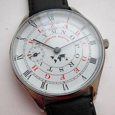 "Soviet wristwatch cal. 3602 . "" Telegraph service"". Steel case. Glass."
