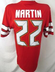 Tampa Bay Buccaneers Mens L - 2X Screened Doug Martin #22 Jersey Shirt ATPA 96