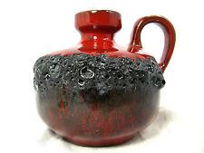 "70´s design WGP Kreutz Keramik  "" Fat Lava "" pottery vase  210  11,5 cm"