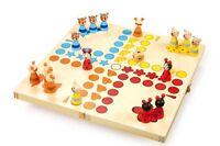 """Ludo """"Tiere"""" ärgere dich nicht,Brettspiel Kinder Holz Gesellschaftsspiel Spiel"""