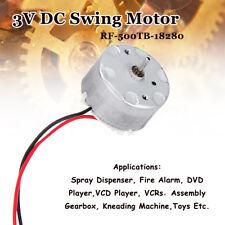 DC Swing Motor RF-500TB-18280 3V-6V 2800RPM Car DVD VCD CD Player Toy Repair