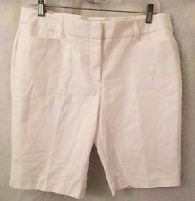 Laura Ashley NWT Woman's Petite White Shorts Size 10P