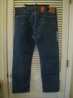Levi's 505 Jeans Size 40X30 Regular Fit Straight Leg Red Tab Denim Levis NWT