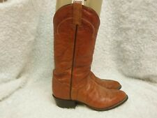Men's Tony Lama,  Brown Leather, Cowboy Western, Boots, Size 8.5 D