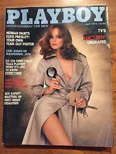Playboy Magazine July 1978 Pamela Sue Martin Karen Morton Carl Sagan