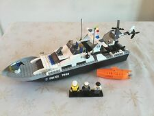 Lego City 7899 police BOAT 100% complet + Instructions