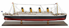 Titanic Ocean Liner Wooden Built Boat Model 36 inch by Authentic Models AS083