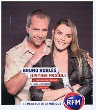 PUBLICITE ADVERTISING 114 2011 RFM Bruno Roblès et Justine Fraïoli