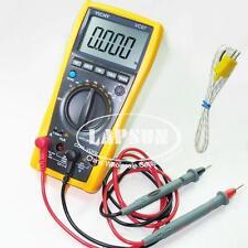Digital Multimeter Thermometer Voltmeter Tester AC DC K Type Sensor Probe VC97 A