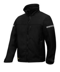 Snickers 1200  AllroundWork, Black Softshell Jacket mens warm winter