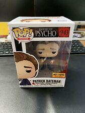 New listing Funko Pop! Patrick Bateman #943 American Psycho Hot Topic Exclusive Mint!