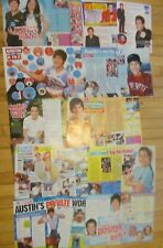 Austin Mahone, Lot of TEN Two Page Clippings