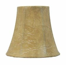 "Urbanest Faux Leather Mini Chandelier Lamp Shade  Bell Softback 3""x5""x4.5"""