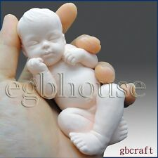 Lifelike/Newborn Baby Ryan(2 Parts Mold) - 3d Silicone Soap/polymer Caly Mold