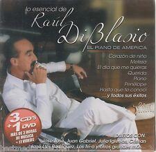 Lo Esencial De Raul Di Blasio CD NEW Con 3 CD's + 1 DVD ORIGINAL Nuevo SEALED