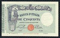 50 LIRE BARBETTI MODIFICATO CON MATRICE ( FASCIO )  07/10/1929  QFDS