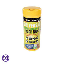 Tough Wipes Biodegradable for Home and Garden - 40 Pack Removes Paint, Tar & Ink