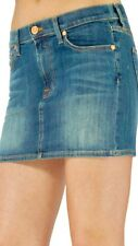 7 For All Mankind Women's Skirt A Pocket Jeweled Mini Skirt Size 27 NWT $178