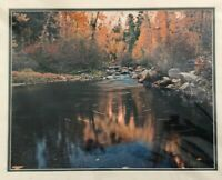 Todd L. Branscombe Photography, Fall Creek, Signed, 20 x 16 Matted, Unframed