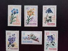 1967 - Romania - Flowers, Mi. 2594 - 2599 , MNH