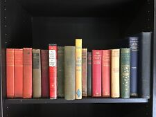 Lot of 10 Antique Collectible Vintage Old Rare Hard To Find Books MIXED UNSORTED