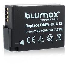 Akku für Panasonic DMW-BLC12 | 65104 | DMC-FZ300 FZ1000 FZ2000 GH2 G5 G6 G7 G8