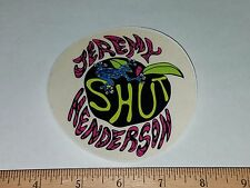 VTG 80's SHUT NYC NEW YORK JEREMY HENDERSON RARE ZOO YORK NOS SKATEBOARD STICKER