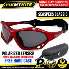 SEA SPECS RED POLARIZED FISHING GLASSES SEASPECS KITE SURF BOAT JETSKI KAYAK