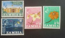 ZAMBIA 1965 Mi.Nr. 22 used 23/25 mint.h.