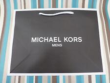 Soft cardboard gift bag med-large Michael Kors Black paper carrier bags no tag
