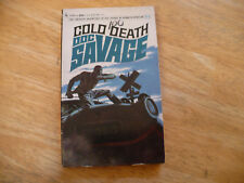 "DOC SAVAGE # 21 ""COLD DEATH"" - 1ST PRTG 1/68 - BANTAM PB -GLOSSY-VERY NICE"