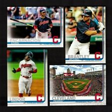 2019 Topps (Series 1 & 2) CLEVELAND INDIANS Team Set 27 Cards