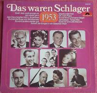 Das waren Schlager 1953 LP Vinyl Rudi Schuricke / Bruce Low  Willy Schneider uvm