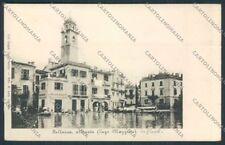 Verbania Pallanza alluvione cartolina RB0688