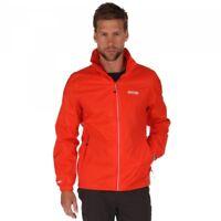 Regatta Lyle III Mens Lightweight Waterproof Breathable Jacket Amber