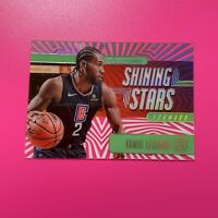 2029-20 Panini Illusions Emerald Shining Stars Acetate Kawhi Leonard #1 Clippers