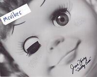"June Foray ""Talky Tina"" The Twilight Zone Autographed Signed 8x10 Photo #1 COA"
