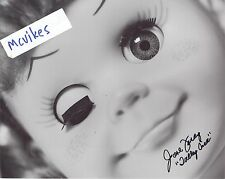 "June Foray ""Talky Tina"" The Twilight Zone Autographed Signed 8x10 Photo #1 Coa"