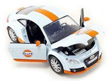 AUDI TT GULF LIVERY 1:24 Scale Diecast Toy Car Model Die Cast Miniature