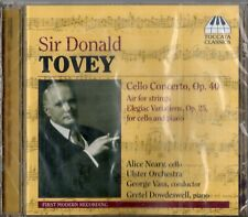 Sir Donald Tovey - Cello Concerto · Air for strings · Elegiac Variations / Neary