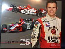 🔥 2003 #26 Dan Wheldon Rookie of the Year 8X10 Hero Card Indycar Klein Tools 🔥