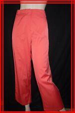 ZAPA Taille 40 Superbe pantalon rose femme coton mélangé trousers pants hose