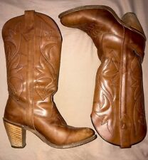 Capezio Womens Boots Sz 7.5 M Style L344 Genuine Leather Made In USA 61956