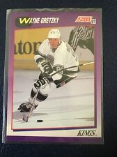 WAYNE GRETZKY  1991-92 Score #100  NM/MT+  Pack Fresh w/Top Loader!